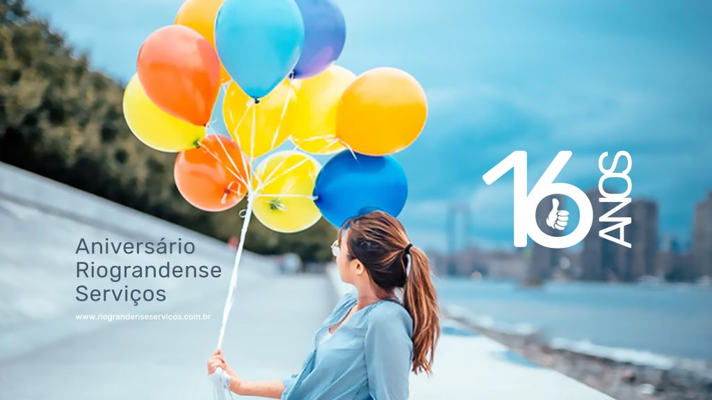 16 anos de história da Riograndense Serviços
